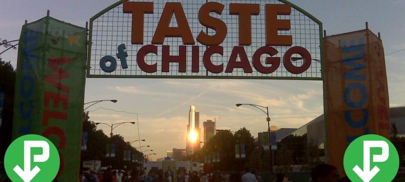 Find the perfect parking spot for Taste of Chicago with iParkit