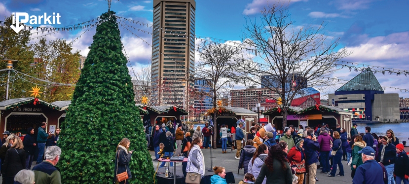 iParkit: Baltimore Inner Harbor Holiday Parking Tips